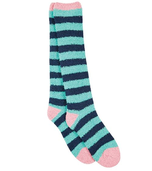 OPEN BOX: Cosy Socks-Mint/Navy-Ladies