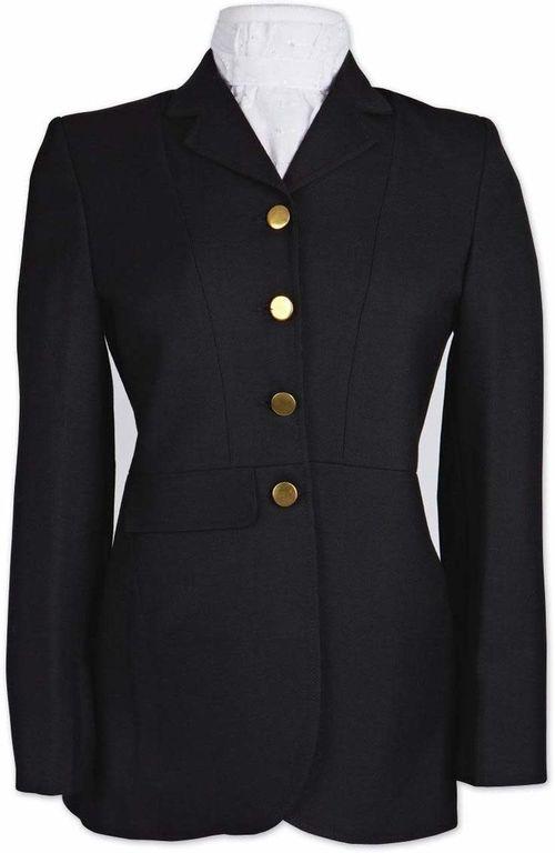 OPEN BOX: Dressage Frock - Black-10 Regular