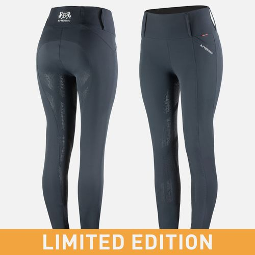 OPEN BOX: Limited Edition Ingrid Recycled Riding Tights - Dark Navy - EU34