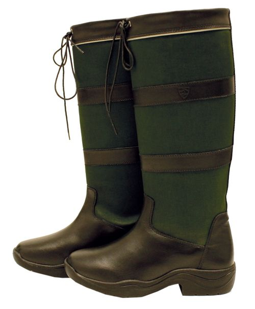OPEN BOX: Original Pull Up Boot - Brown/Green-41 Wide