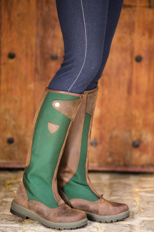 OPEN BOX: Original Tall Turnout Boot - Brown/Green-40 Wide