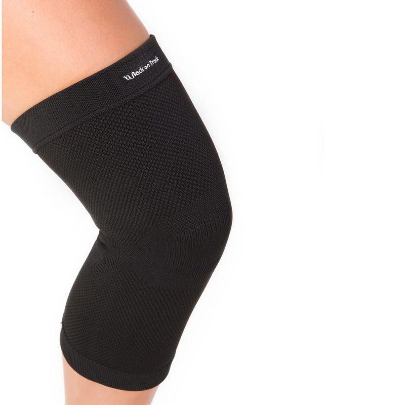 OPEN-BOX--Physio-Knee-Brace---Black-Small