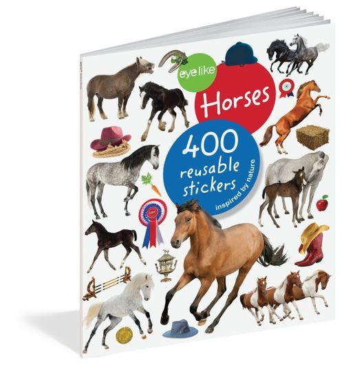 Eyelike Horses Sticker Book