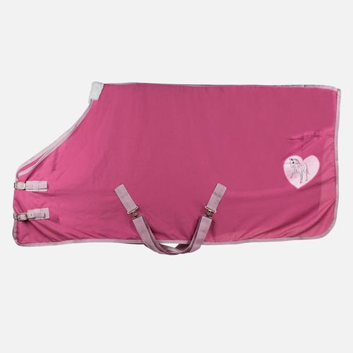 Horze Tucker Pony Cooler - Shocking Pink/Pink