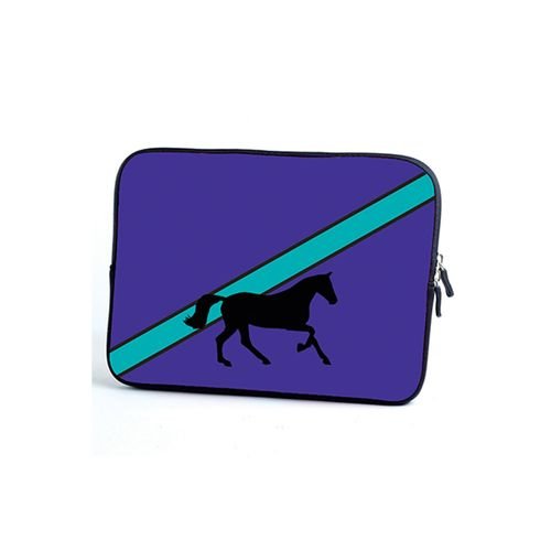 Tek Trek Galloping Horse Tablet Case - Purple