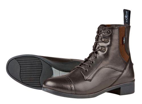 Saxon Kids' Syntovia Lace Paddock Boots - Brown