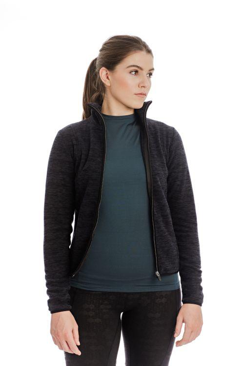 Horseware Women's Lara Thermo Regulating Fleece Zip Jacket - Black