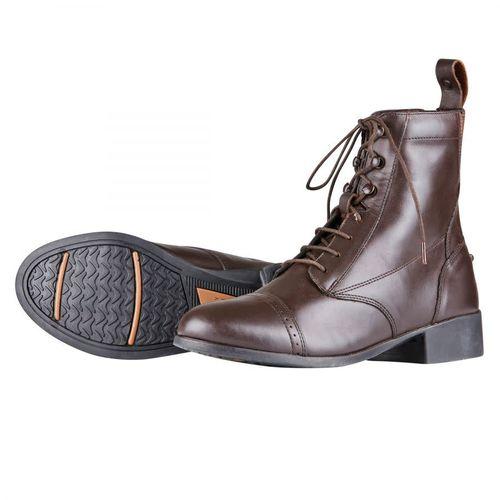 Dublin Kids' Elevation Laced Paddock Boots II - Brown