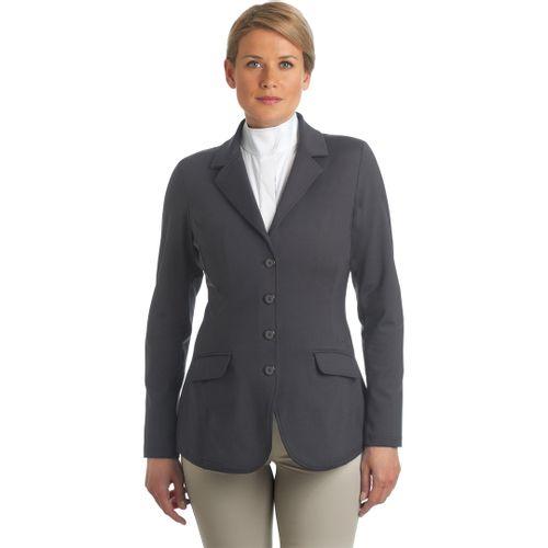 Ovation Women's Destiny 4 Button Show Coat - Steel Grey