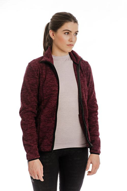 Horseware Women's Lara Thermo Regulating Fleece Zip Jacket - Port