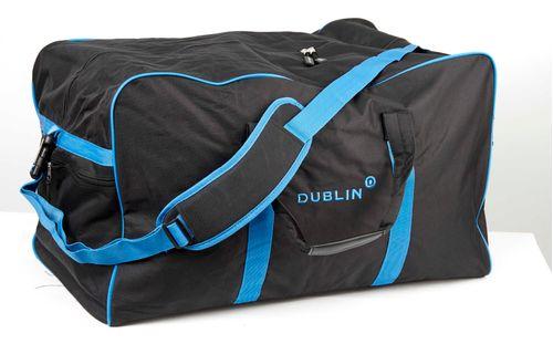 Dublin Imperial Hold All Bag - Black/Blue