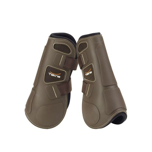 Tekna Quick Close Open Front Boots - Brown