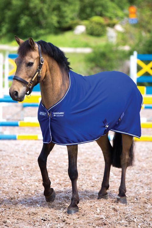 Amigo Jersey Pony Cooler - Atlantic Blue/Ivory