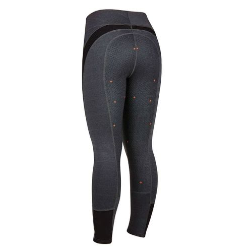 Dublin Black Women's Shiloh Full Seat Tights - Charcoal