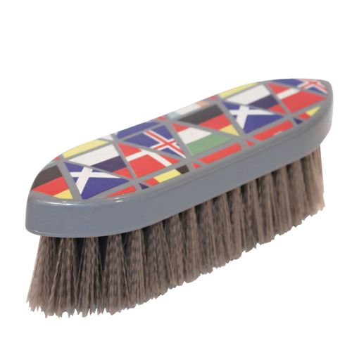 Roma Pattern Dandy Brush - National Flags