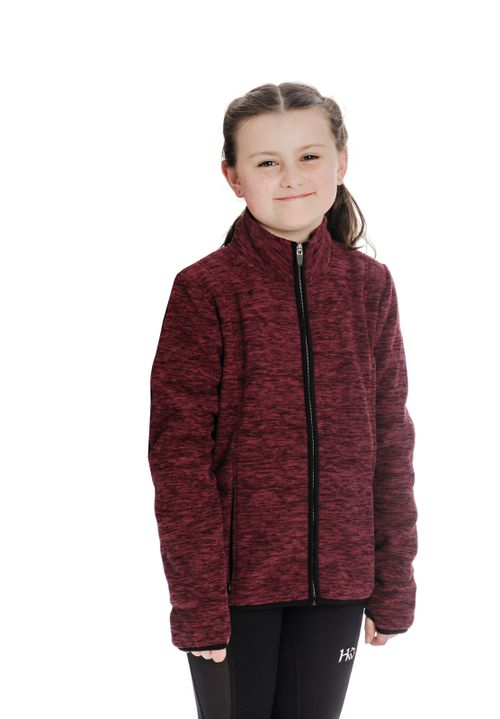 Horseware Kids' Lara Thermo Regulating Fleece Zip Jacket - Port