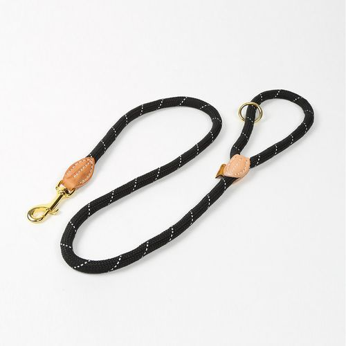 Digby & Fox Reflective Dog Lead - Black