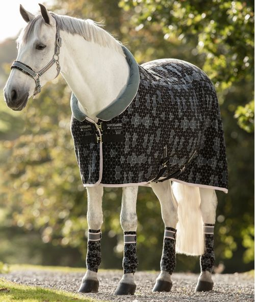 Horseware Fashion Cosy Fleece Cooler - Hexagon Print