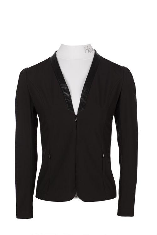 Horseware Women's Collarless Competition Jacket - Black