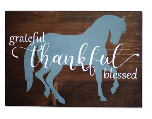 Kelley and Company Wall Decor - Thankful Grateful Blessed