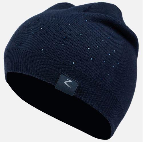 Horze Kids' Rhonda Knit Winter Hat - Dark Navy