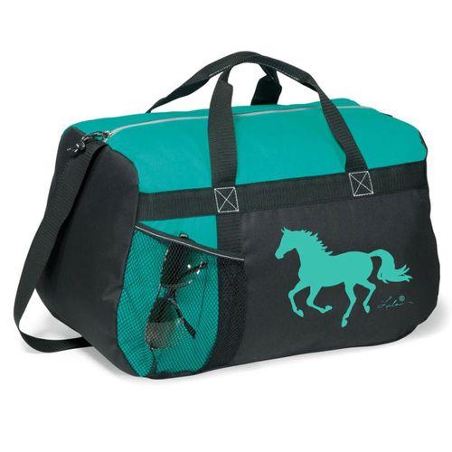 Tek Trek Gallop Horse Duffle - Turquoise