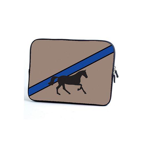 Tek Trek Galloping Horse Tablet Case - Tan