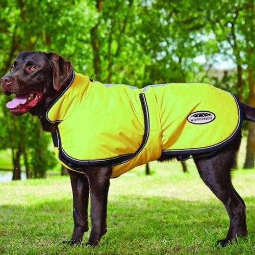 Weatherbeeta 300D ReflectiveParka Deluxe Dog Coat - Yellow