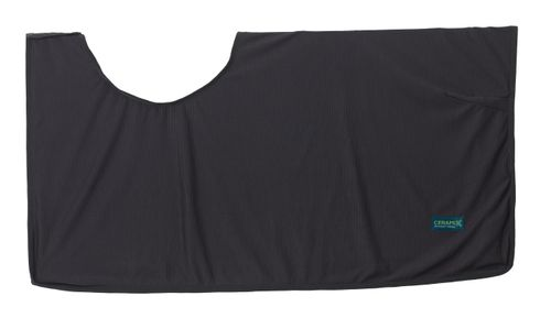 Ceramix Mesh Knit Exercise Sheet - Black