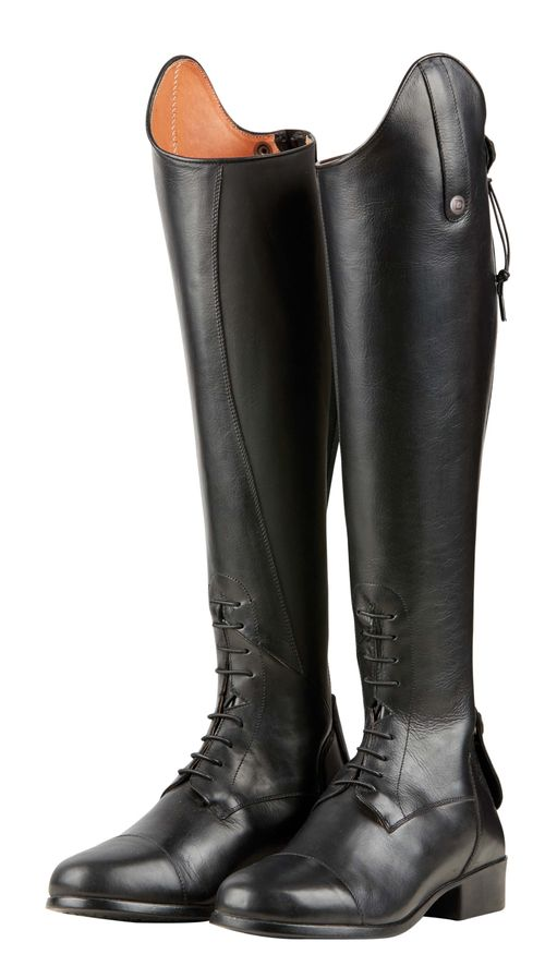 Dublin Women's Holywell Tall Field Boots - Black