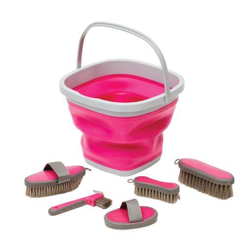 Roma Grooming Bucket Kit - Pink