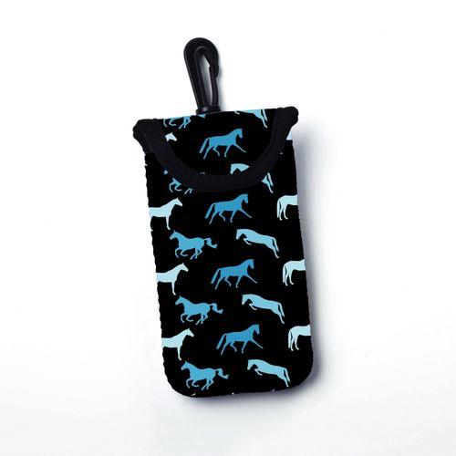 Tek Trek Neoprene Velcro Smart Phone Case - Blue