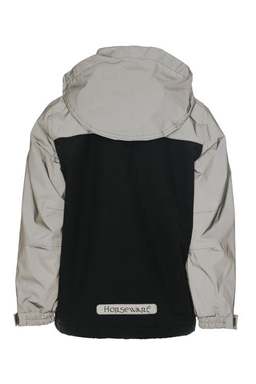 Horseware Kids' Corrib Reflective Jacket - Reflective Grey