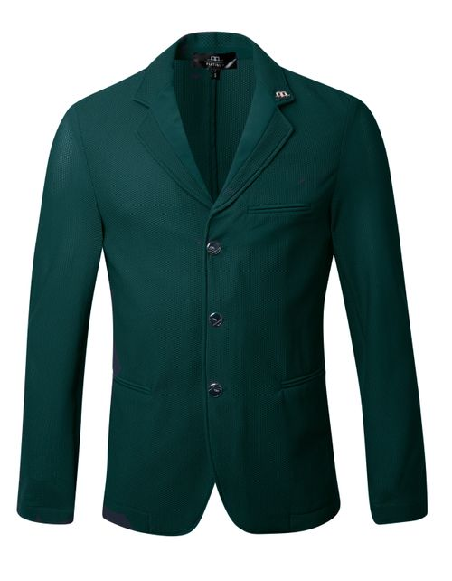 Alessandro Albanese Men's Motion Lite Competition Jacket - Hunter Green