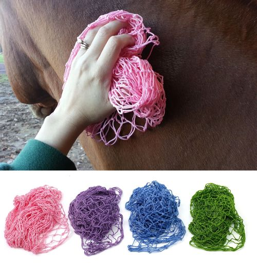 Equi-Essentials Magic Groom Net - Pink