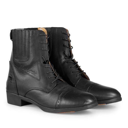 Horze Hamptons Paddock Boots - Black