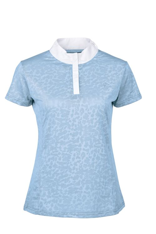 Dublin Women's Cortez CDT Short Sleeve Competition Top - Powder Blue