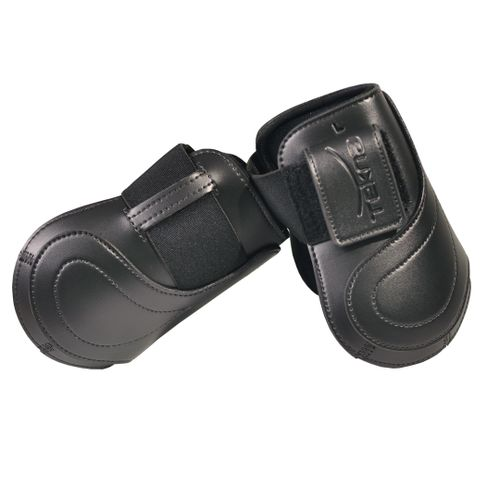 Tekna Hook and Loop Fetlock Boots - Black