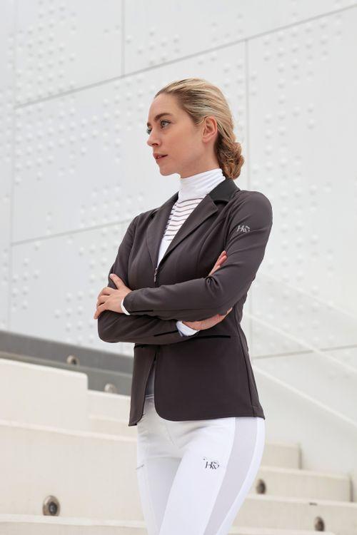 Horseware Women's Flow2 Tech Competion Jacket - Dark Grey