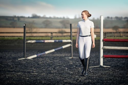 Dublin Women's Cortez CDT Short Sleeve Competition Top - White