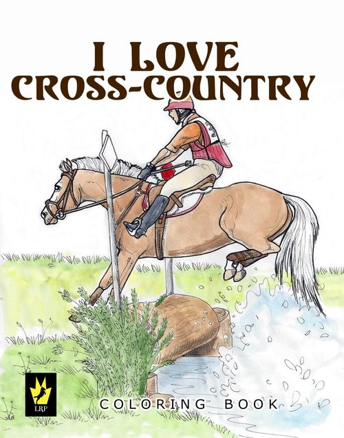 I Love Cross Country Coloring Book
