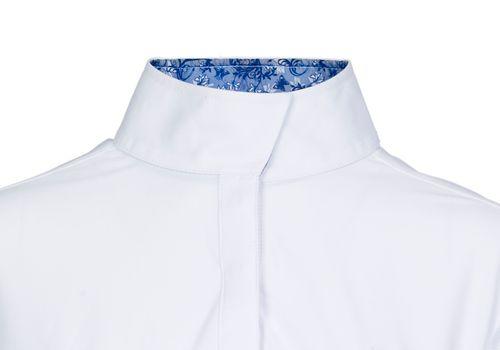 Ovation Women's Jorden Full Snap Show Shirt - White/Secret Garden