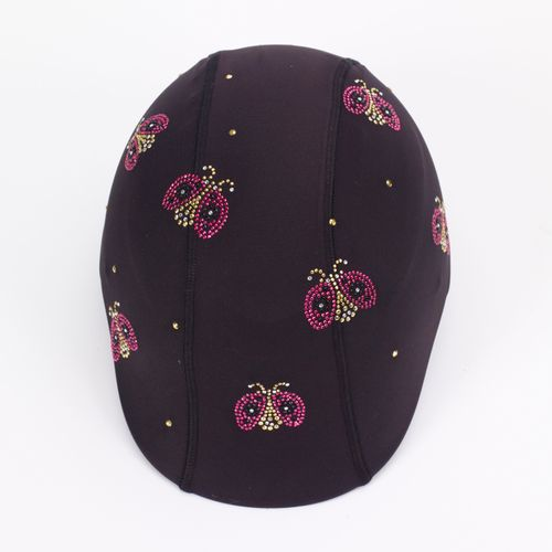 Helmetra Helmetra Designer Helmet Cover - Ladybugs