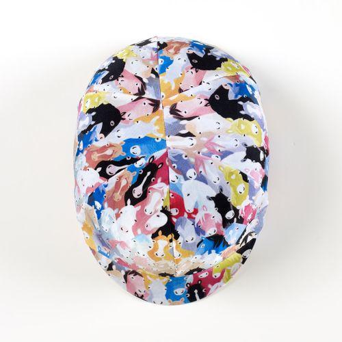 Ovation Zocks Print Helmet Cover - 2061 OMG Ponies