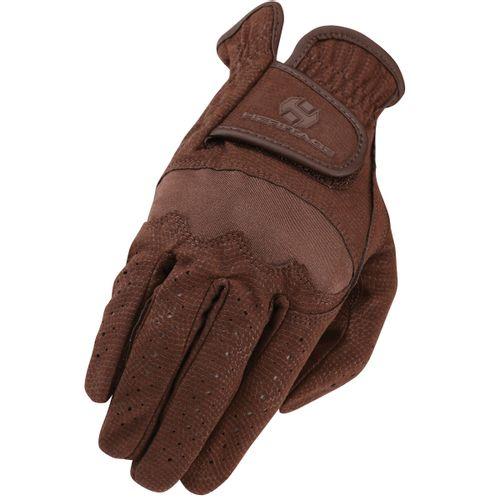 Heritage Spectrum Show Gloves - Chocolate
