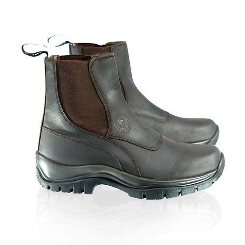 Horze Women's Sporty Rugged Paddock Boots - Brown