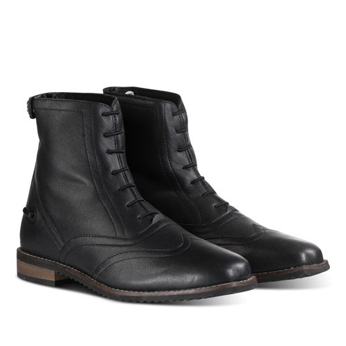 Horze Women's Catania Leather Paddock Boots - Black