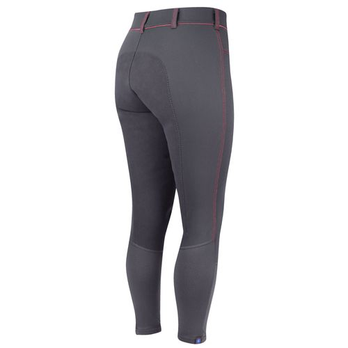 Irideon Women's Zanzibar Full Seat Breeches - Graphite/Coral