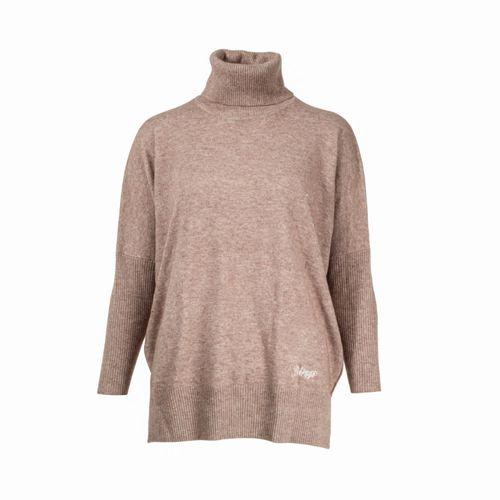 B Vertigo Women's Heather Sweater and Pants - Vintage Khaki Grey