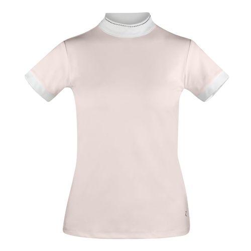 Horze Women's Georgia Short Sleeve Show Shirt - Potpourri